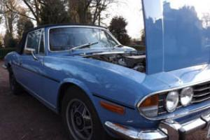 Triumph Stag 1979 Mark 2 Manual/Overdrive  Photo