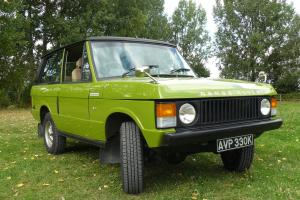 Range Rover classic 2 door 1971 manual 12 month MOT