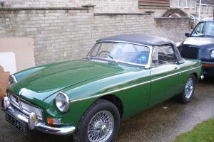 MG B Roadster 1964 Racing Green Previously owned by Nigel Havers MGB 49k miles