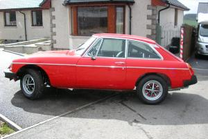 MGB GT - Classic Car  Photo