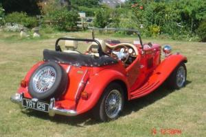 CLASSIC MG TD 1950s REPLICA - NOT KIT CAR IMMACULATE CONDITION