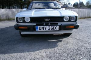 1982 FORD CAPRI 2.8 INJECTION SILVER