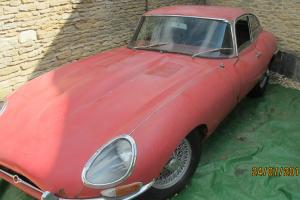 JAGUAR E TYPE SERIES 1 FHC 3.8 EARLY 1962