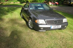 1994 MERCEDES SL320 AUTO GREY with factory hard top