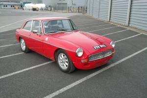 MG, MGB, 1972 TAX EXEMPT MGB GT, FULL BARE SHELL REBUILD JAN 2012 WITH UPGRADES  Photo