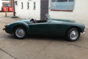 MGA roadster 1958 lhd, runs
