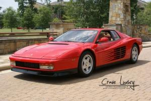 Immaculate in and out Not your average Testarossa Serviced etc