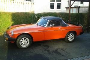 MG Roadster 1978  Photo