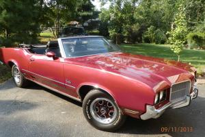 72 Cutlass Supreme Convertible frame off resto mod