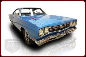 69 GTX Original 440  4 Speed Manual  Air Grabber Hood Build Sheet  B5 Blue