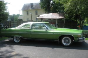 1976 BUICK ELECTRA LIMITED 2 DOOR GREEN