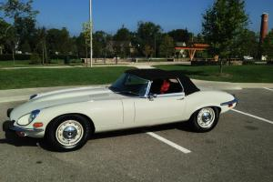 1973 Jaguar XKE V12 Convertible Photo