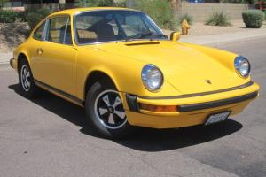 1976 Porsche 912E, 2.0L 4cyl, 5-Speed, Cosmetically Restored, 3-Owner 76k Miles!
