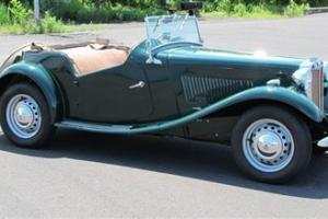 Roadster 53 Vintage Classic Restored Original British Racing Green
