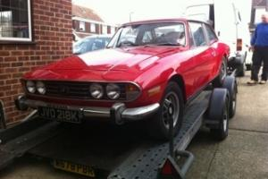 Triumph Stag project  Photo