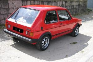 VW Golf GTI mk1, phase 1, 06/1980, mint condition