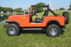 Jeep CJ7 4X4 Off road Laredo Jeep Wrangler Automatic CJ7 Lifted Mud Convertible