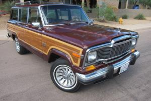 1983 Jeep Wagoneer Limited, 4x4, 360ci V8, Leather, A/C, 77k Miles, WAGONMASTER