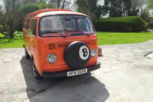 1975 VOLKSWAGEN T2 BAY VAN ORANGE running resto - long MOT