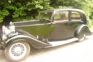 1937 Rolls Royce 25-30 Mayfair Saloon