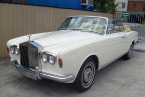 1973 Rolls Royce Corniche Convertible in in Moreton, QLD  Photo