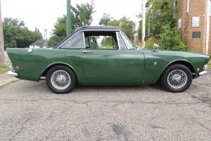 1963  SUNBEAM  --  ALPINE  --  SERIES  III  ---  REMOVABLE  HARD  TOP