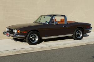 Beautiful Restored 1973 Triumph Stag. Aluminum 231 V8..Automatic..48k miles.