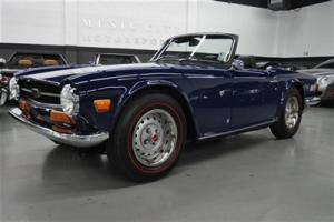 EXCEPTIONAL 23400 mile RUST FREE TR6