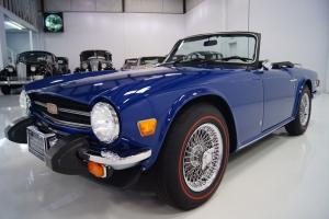 1976 TRIUMPH TR-6, GORGEOUS WIRE WHEELS WITH SPARE, LAST YEAR FOR THE TR-6!