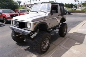 "1986 Suzuki Samurai 4x4 Custom Rock Crawler 9"" Lift 5-Speed 35"" Tires Off Road!"