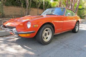1972 Datzun 240Z, 1 owner, low miles, totally original and rust free