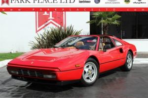 1989 Ferrari 328 GTS w/low miles Red/Tan