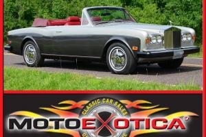 1980 ROLLS ROYCE CORNICHE 48K  MILES-OUTSTANDING CONDITION, NO RESERVE !!! LQQK Photo