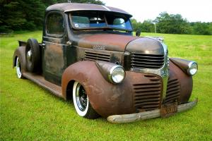 1946 DODGE WD-15 RAT ROD GASSER SHOP TRUCK. PATINA, DRIVE ANYWHERE! BUILT RIGHT!