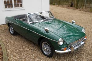 MG MGB sports/convertible Green eBay Motors #121102298147 Photo