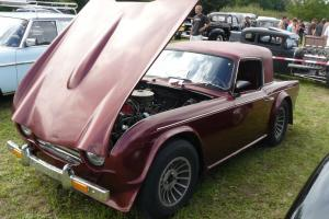 Triumph TR4A with Mustang 289 V8 engine and trans may exchange px why