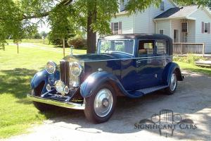 1932 Rolls-Royce 20/25 Gurney Nutting Sportsman Saloon Photo