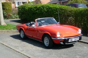 TRIUMPH SPITFIRE 1500 1977 27,840 Genuine miles  Photo