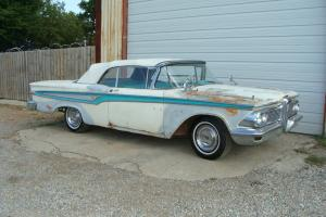 1959 EDSEL CORSAIR CONVERTIBLE PROJECT    TEXAS
