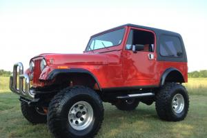 1982 Jeep CJ7 Base Sport Utility 2-Door 4.2L