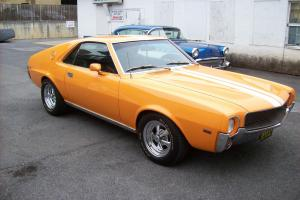 1969 AMC AMX 390 4 SPEED