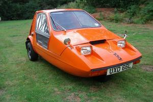 1973 BOND BUG 700 ES ORANGE