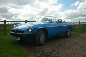 MGB ROADSTER 1979  Photo