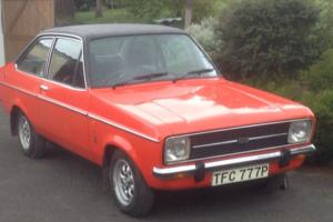 1976 FORD ESCORT 1600 GHIA Mk2 2 DOOR 7900 MILES FROM NEW