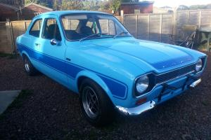 1974 FORD ESCORT MK1 RS2000 REPLICA - EXTREMELY ORIGINAL UNRESTORED SHELL