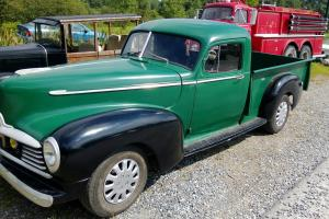 1946 Hudson Pickup Base 283 Small block 700r4 trans. 373 gears step up boards