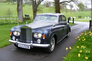 Rolls Royce Silver Cloud 111 1964 Registration