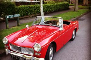 MG Midget Mk1 1963 Convertible - stunning example of this rare model