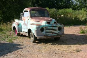 1949 ford f100 pick up truck for restoration