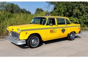 1981 Checker Marathon Taxi Cab, A/C, Jump Seats, 3.8L, Great Running Taxi!